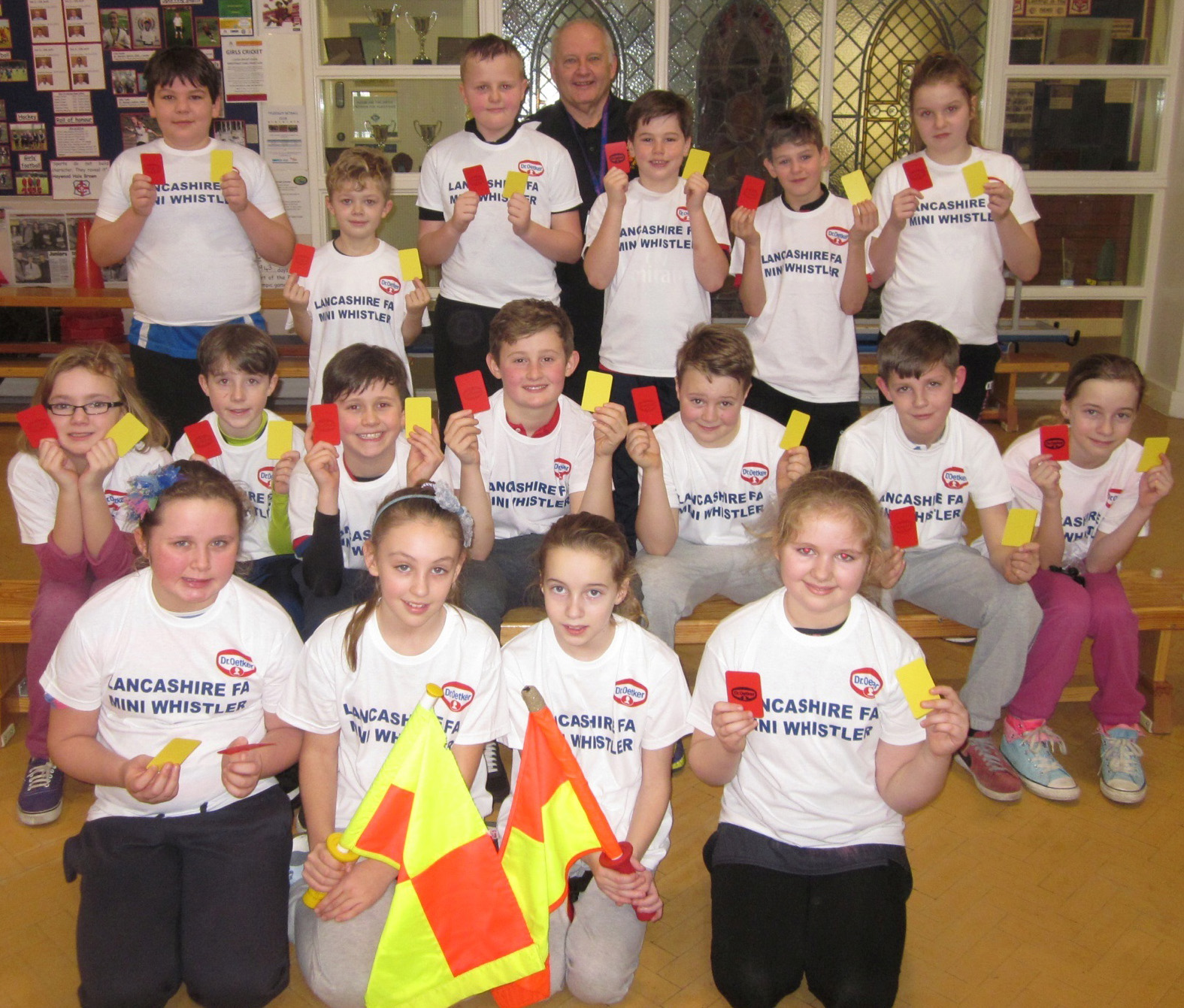 Children taught respect on mini whistlers course