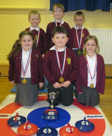 The winning Sacred Heart team