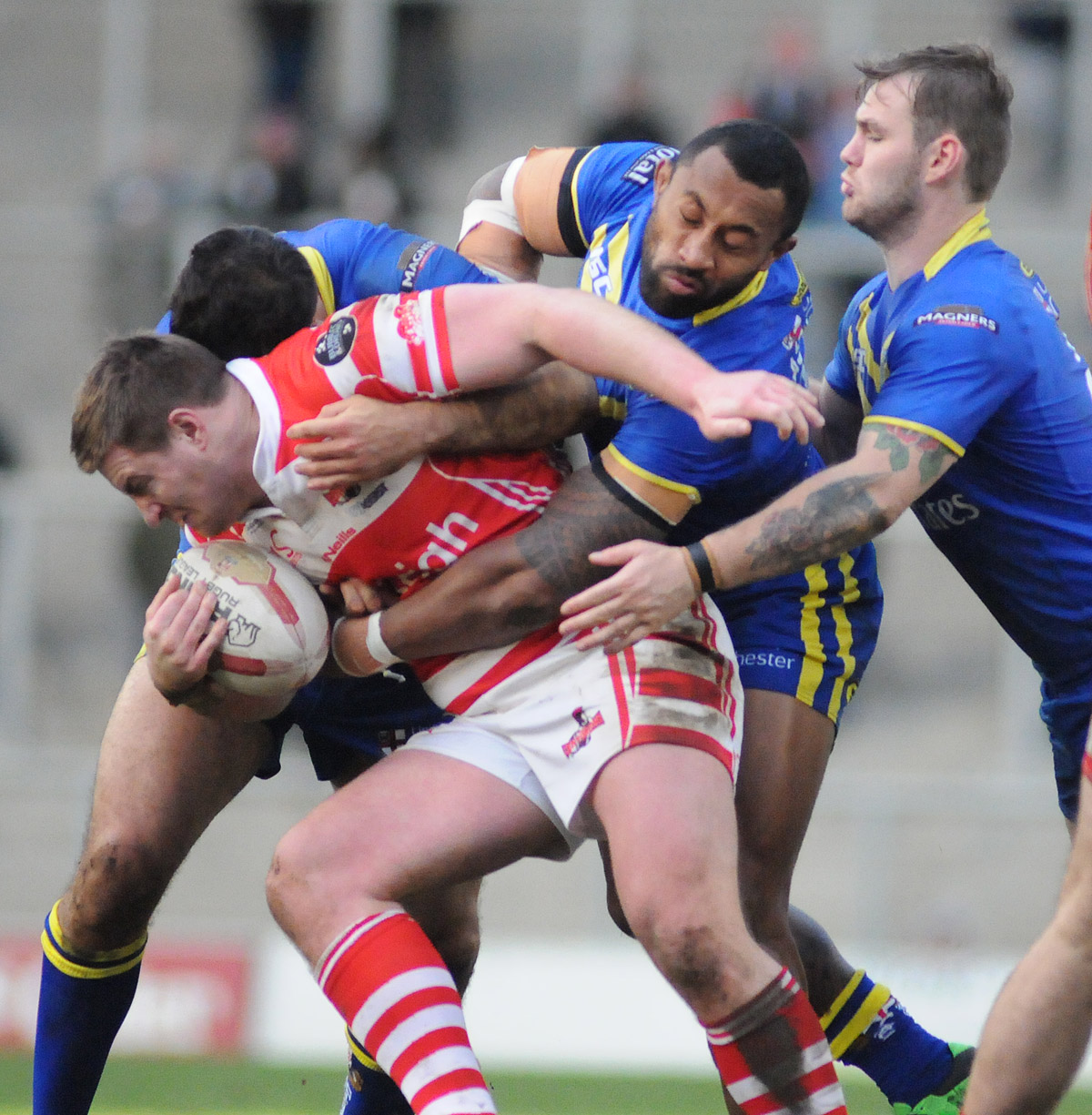 Centurions undone by Wolves in the second half