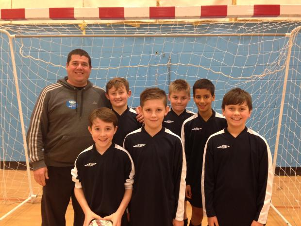 Hindsford boys doing the business in Manchester Futsal League