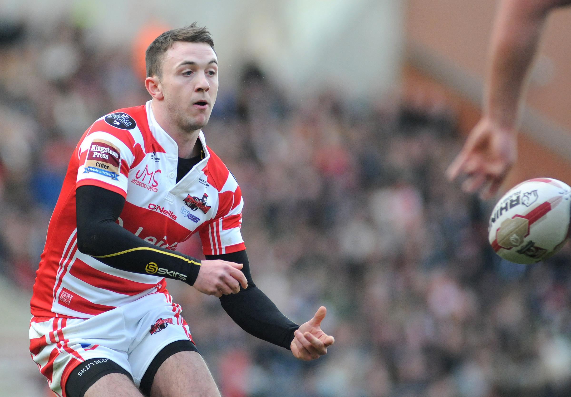 Scrum-half Ryan Brierley followed his opening day hat-trick with five more tries against Barrow