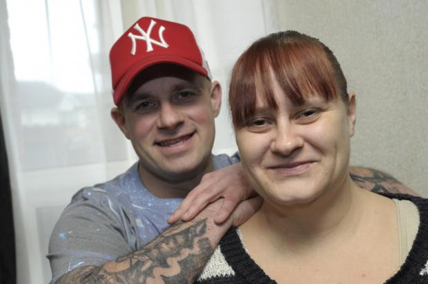 Leigh Journal: Kelly and Daniel are now recovering at home after the operation