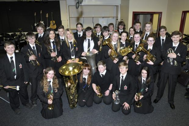 Fred Longworth's brass band will perform at 2pm