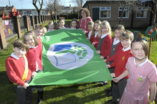 Leigh Journal: The Eco Council of St John's CE Infant School