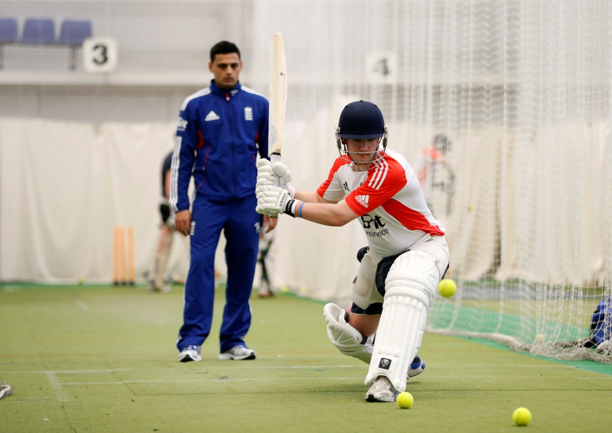 Leigh cricketer in Dubai with national sid