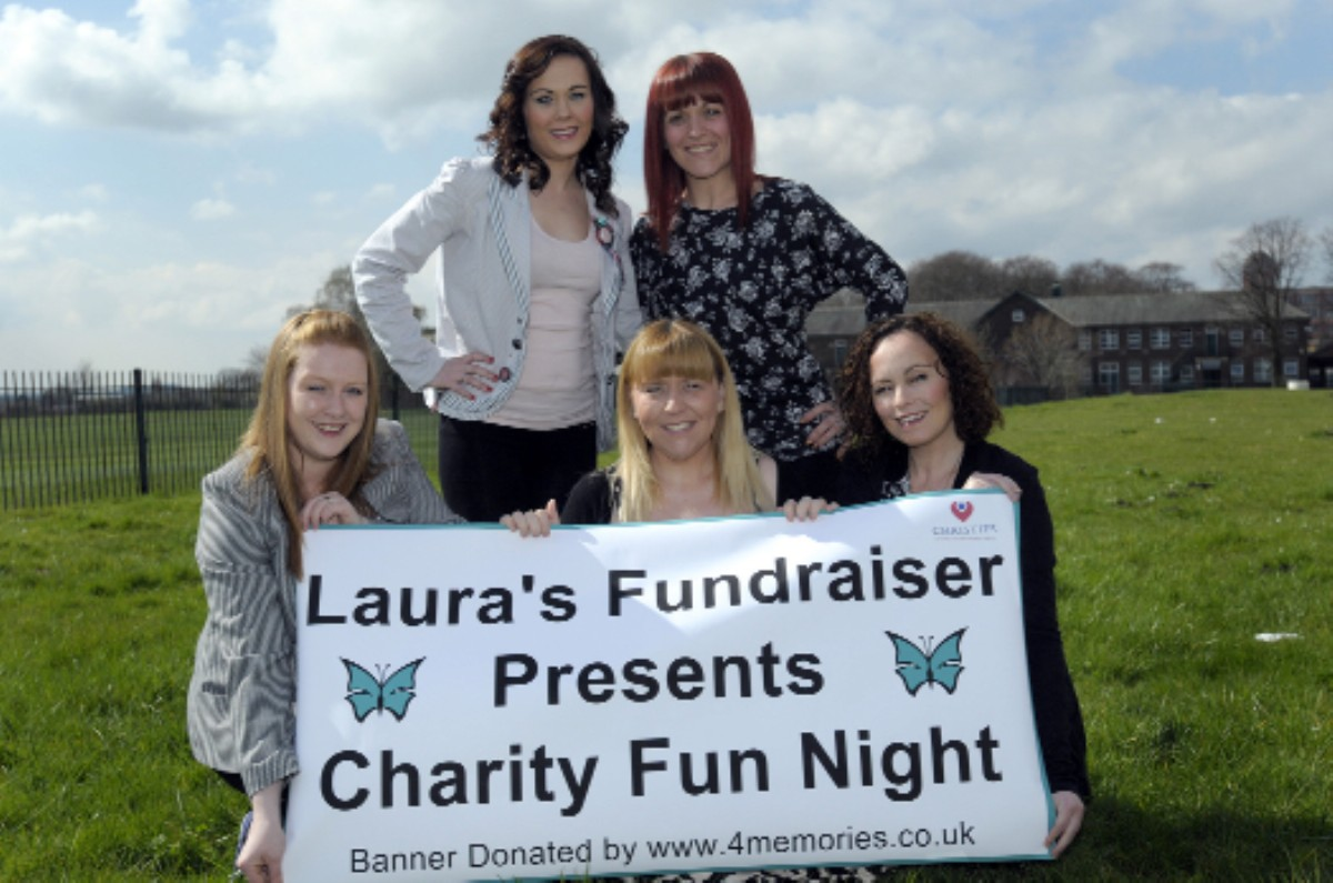 Kerrie Lamb, Julianne Foster, Carla Grainey, Laura Hodgkinson and Jennifer King