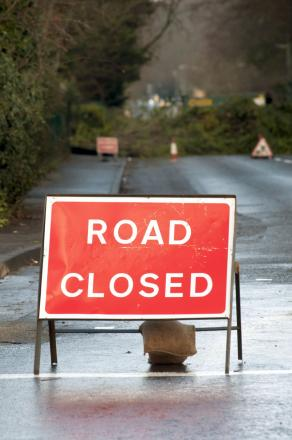 Hough Lane will be closed until September