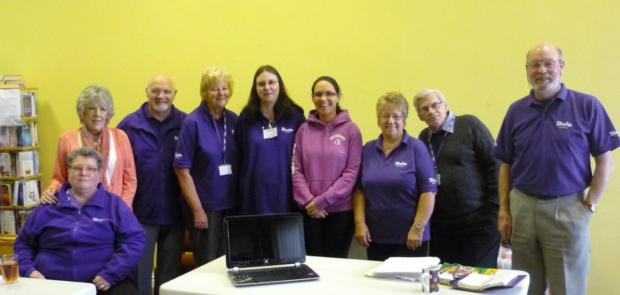 Wigan and Leigh Stroke Group volunteers