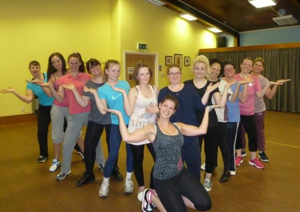 Leigh Journal: Kelly Lopez holds regular zumba sessions but the zumbathon hopes to support a charity, set up in memory of her friend