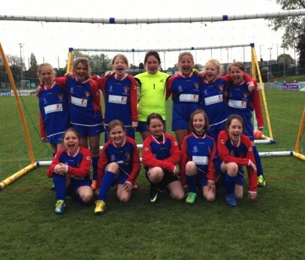 Leigh Journal: Belles on the ball for Eastleigh