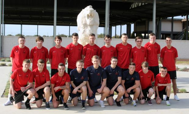 Wigan and Leigh College students at Benfica training camp in Portugal