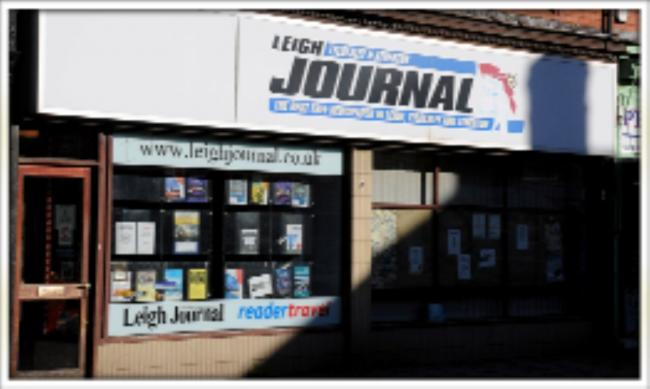 The Leigh Journal office on Railway Road