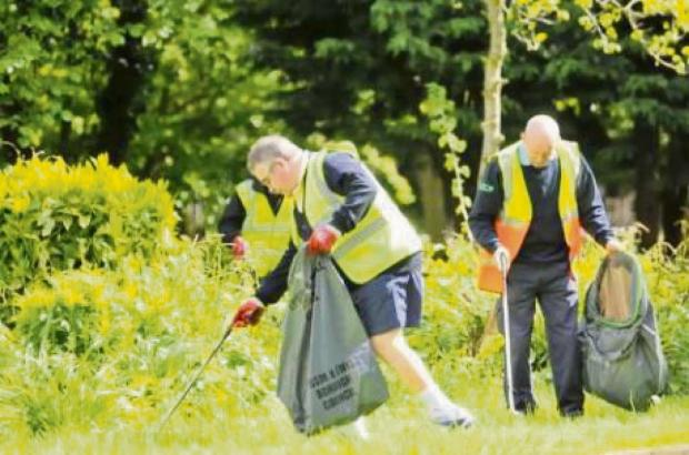 LENDF have organised the litter pick