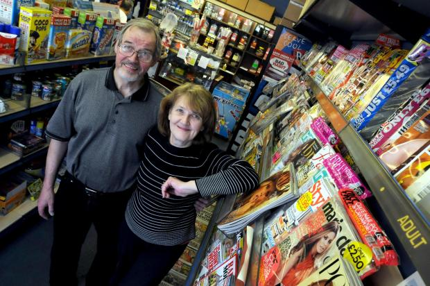 Trevor and Dawn Monks are retiring after running a newsagents for 32 years