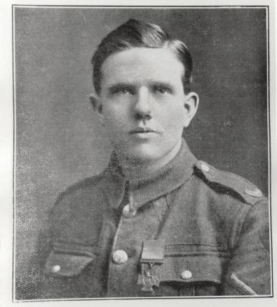 Private Alfred Wilkinson (courtesy of Wigan and Leigh Archive Service)