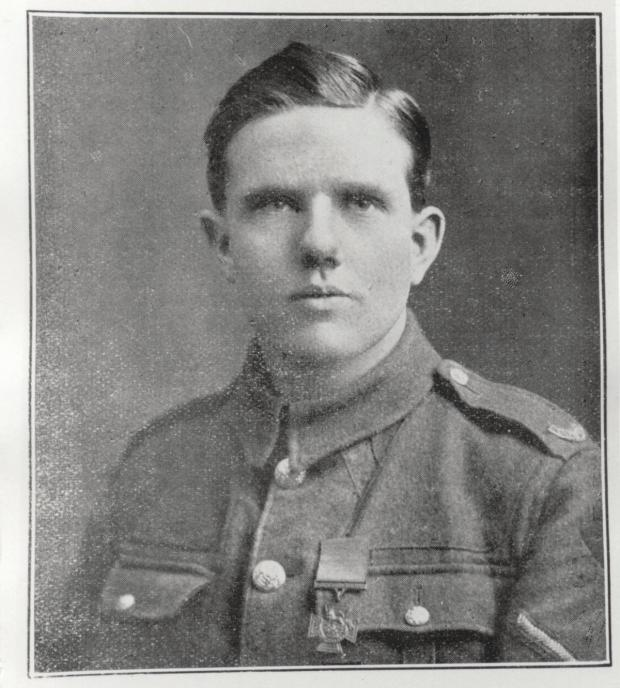 Leigh Journal: Private Alfred Wilkinson (courtesy of Wigan and Leigh Archive Service)