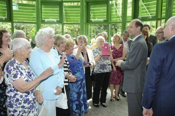VIDEO: Prince Edward opens new centre at Wigan and Leigh Hospice