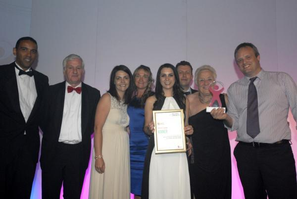 Leigh Journal: WWL staff accepting the award
