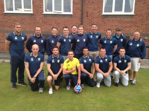 Leigh Journal: Leigh Athletic Football Club senior team and committee