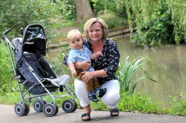 Leigh Journal: Janet Grundy with her grandson Lincoln Currie