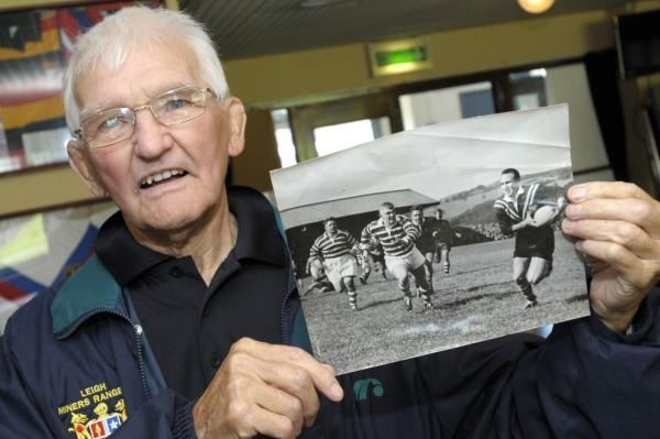 Leigh Miners president still rooting for team 70 years on