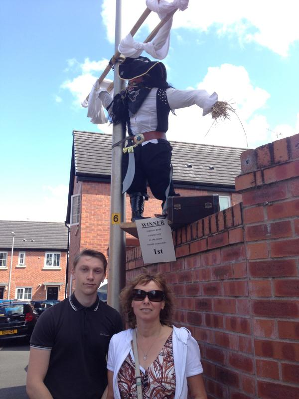 Judges aren't spooked by Atherton scarecrows