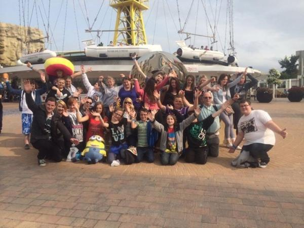 Young carers take on The Big One