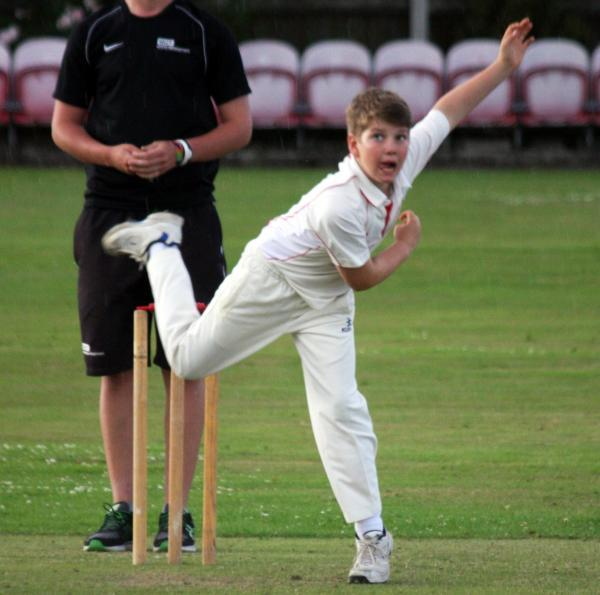 Thomas Gunshorn was among the wickets. Picture: DJ CARTY