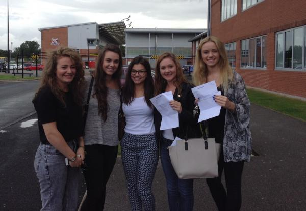 Leigh students celebrate best ever A-level results