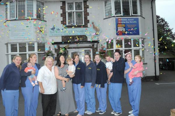 Ducklings celebrate outstanding ofsted