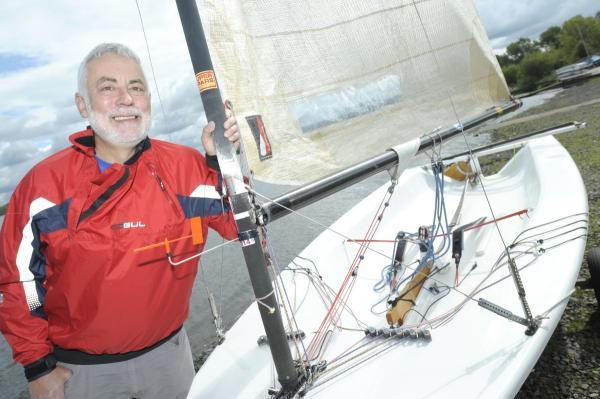 Dave Kelsall is sailing from London to Brighton