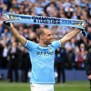 Pablo Zabaleta is looking forward to competing for Manchester City in the Champions L