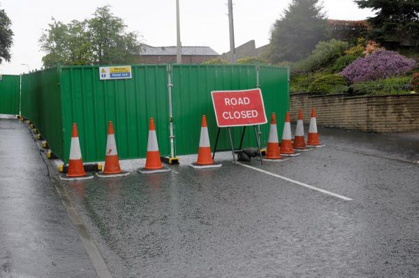 Hough Lane will remain closed until December