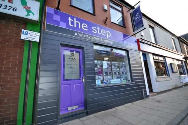 The Step office