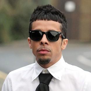 Former N-Dubz singer Dappy has been fo