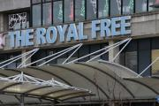 The military healthcare worker is being treated at The Royal Free hospital