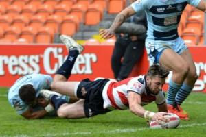 Leigh Centurions 31 Featherstone Rovers 12