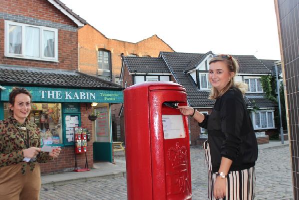 Soap fans can now send mail from Coronation Street's postbox