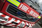 Fire crews from Leigh, Wigan and Warrington dealt with the incident