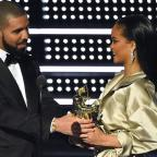 Leigh Journal: People fully expected Drake to propose to Rihanna on stage after declaring his love in beautiful MTV VMAs speech