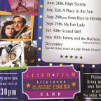 Leigh Journal: A poster of Leigh Film Society's Afternoon Classic Cinema Club