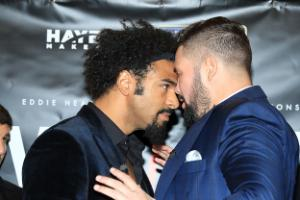Tony Bellew sends strong warning to David Haye ahead of their heavyweight bout