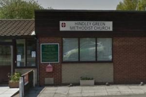 The Easter fair will be held at the Hindley Green Methodist Church next Saturday, April 1. Picture: Google