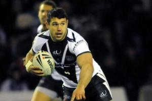 Scott Moore when he played for Widnes Vikings