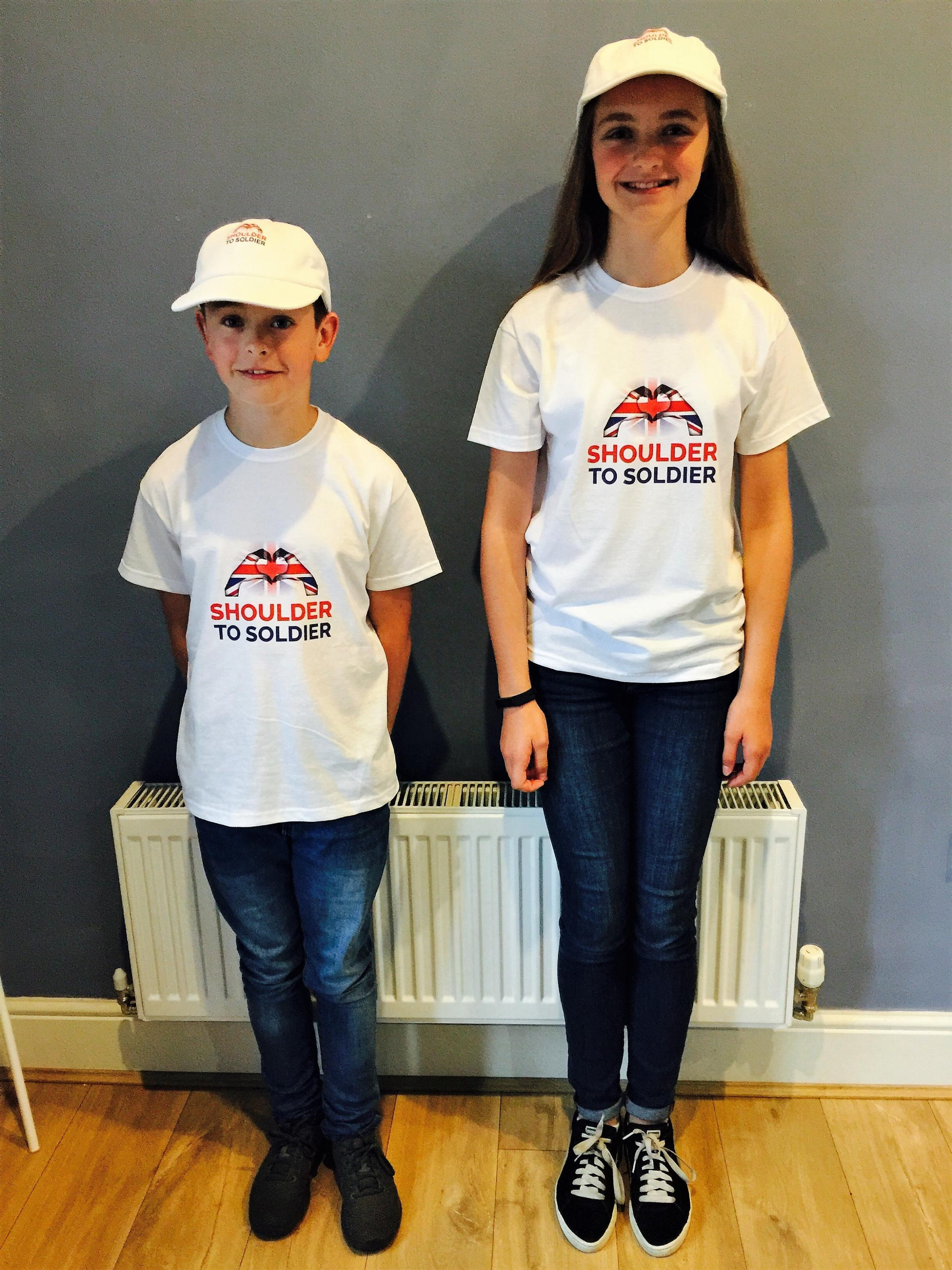 Ethan Stansfield and Katie Coates are taking on the Yorkshire Three Peaks challenge to raise funds for the new Shoulder to Soldier charity