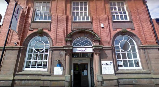 Tyldesley Library on Stanley Street. Picture: Google