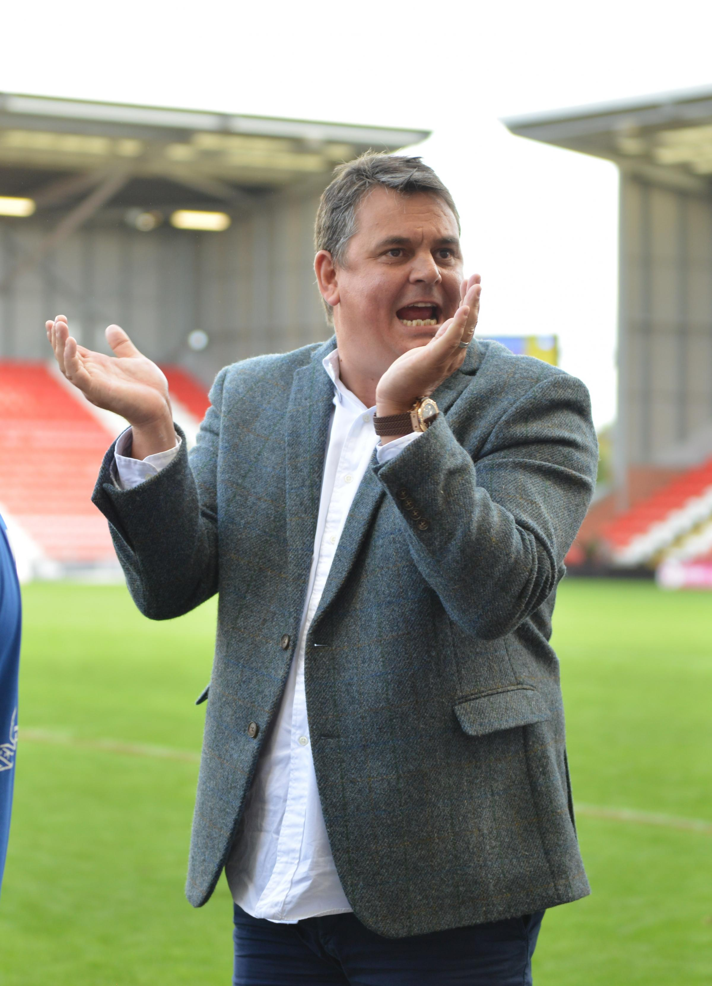 Derek Beaumont will continue backing Leigh. Picture: Paul McCarthy