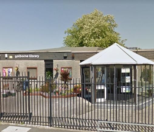 Image result for golborne library