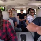 Leigh Journal: Foo Fighters rock out with James Corden in Carpool Karaoke (The Late Late Show with James Corden YouTube)