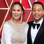 Leigh Journal: Chrissy Teigen traded John Legend's pants with fans for brown bananas (Ian West/PA)